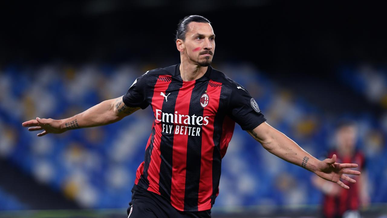 Zlatan Ibrahimovic goals vs Napoli