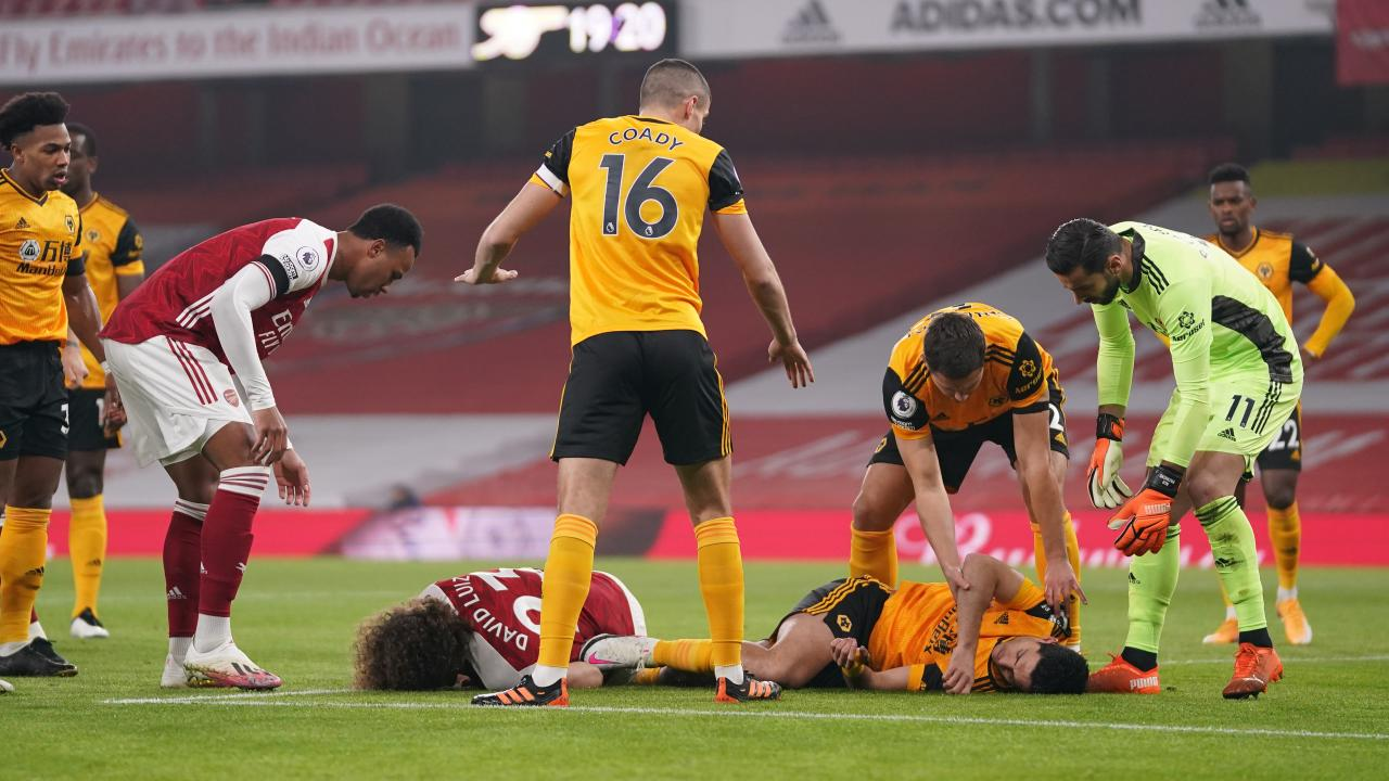 Raul Jimenez head injury