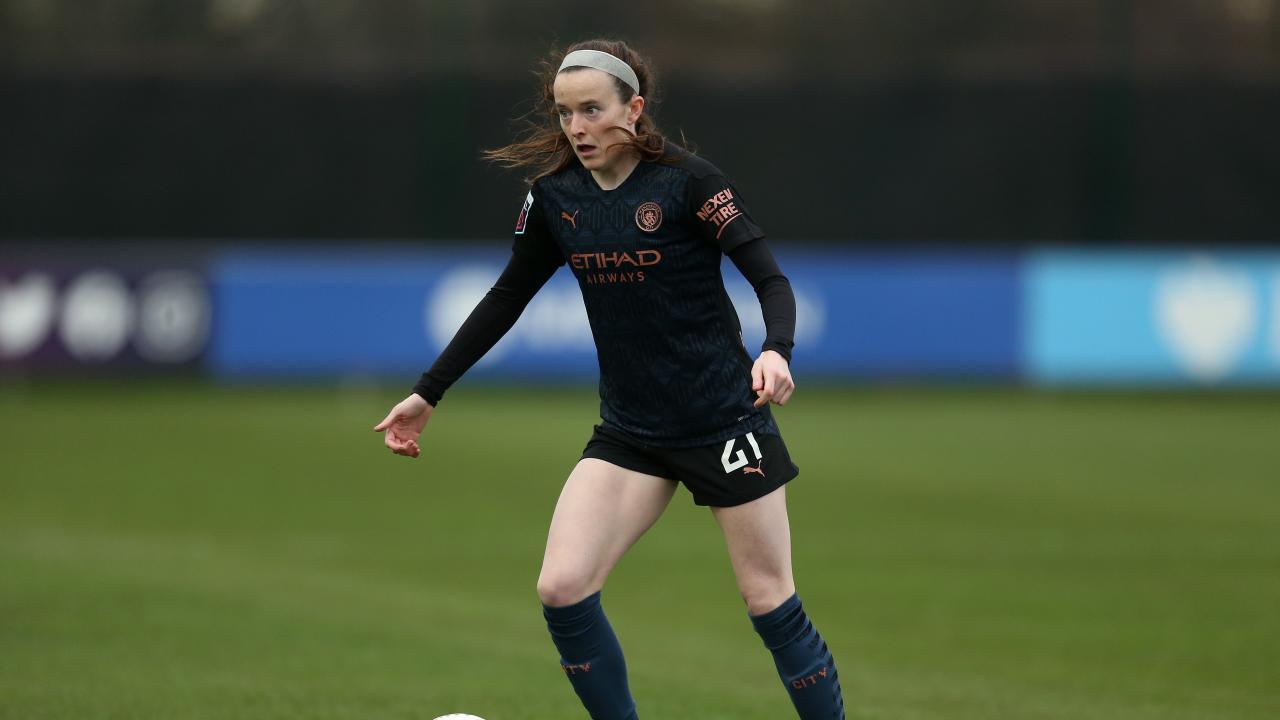 Rose Lavelle Man City goal