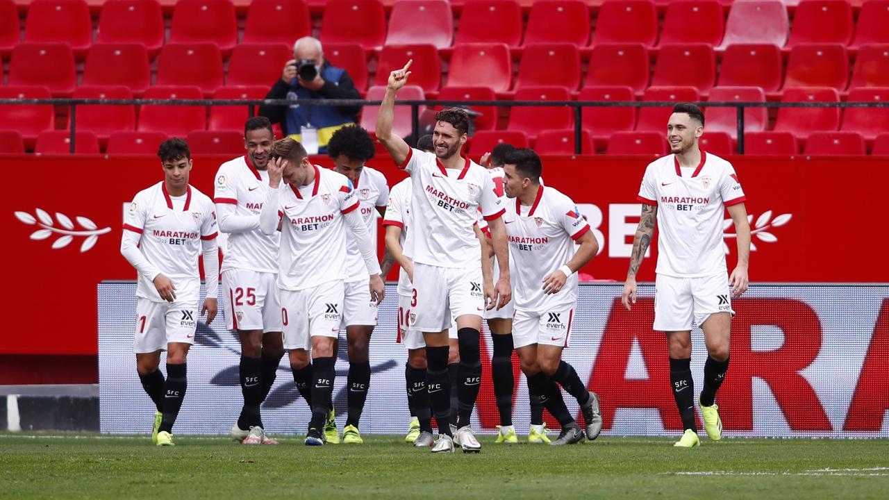 Sevilla team goal