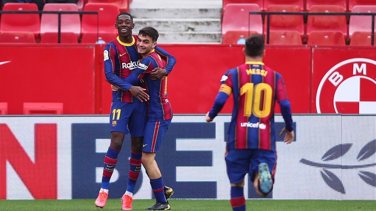 Barcelona comeback vs Sevilla