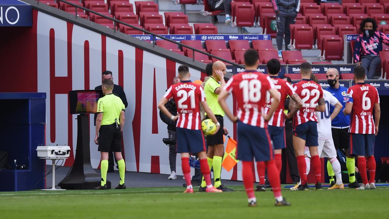 Madrid Derby VAR