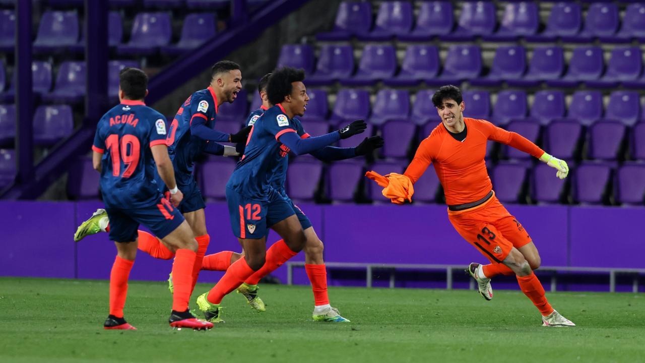 Bono goal vs Valladolid