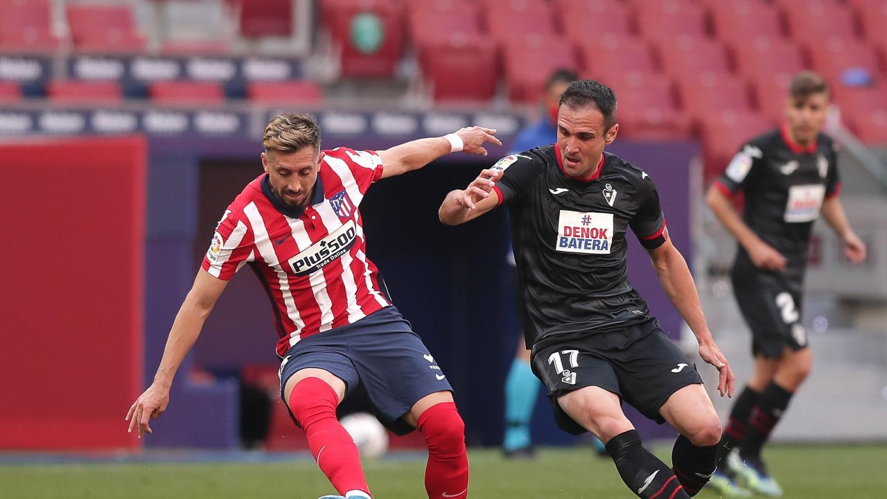 Resumen Atlético de Madrid vs Eibar