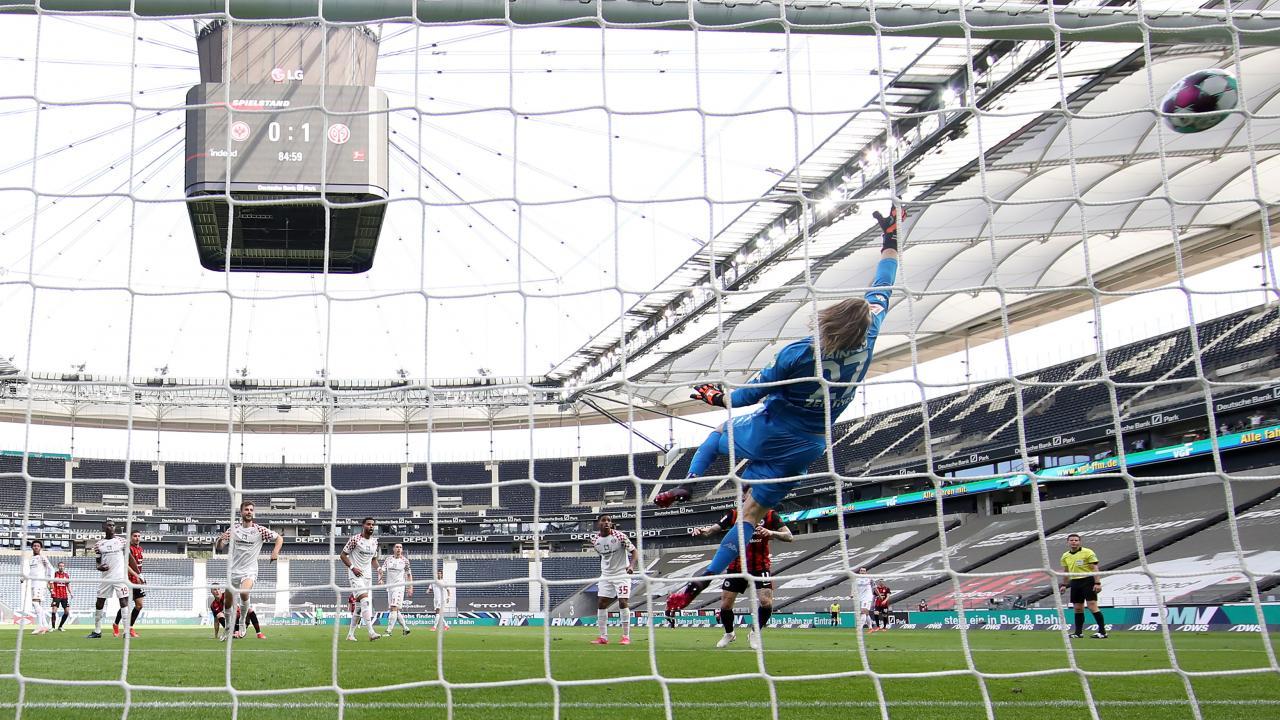 Ajdin Hrustic sitting down goal