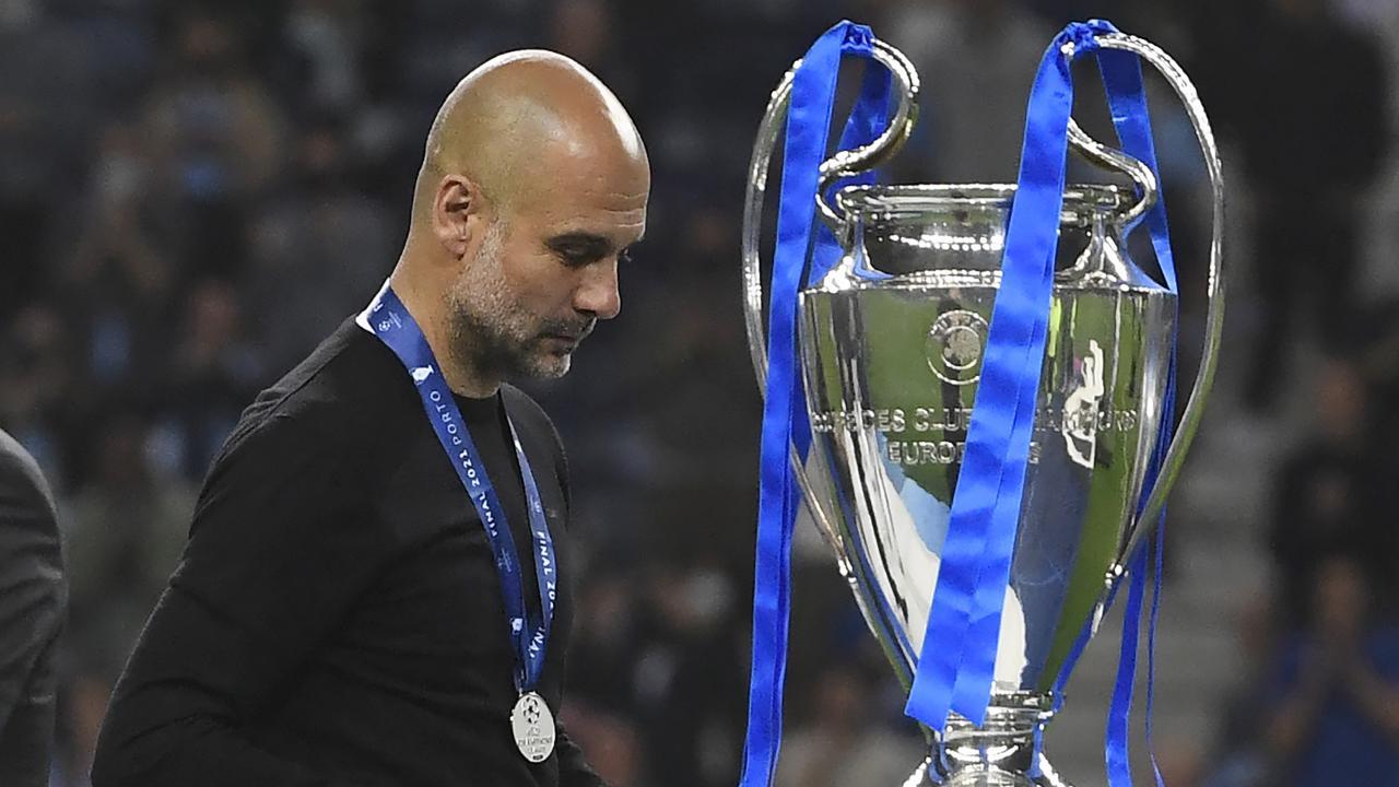 Pep Guardiola Champions League final tactics
