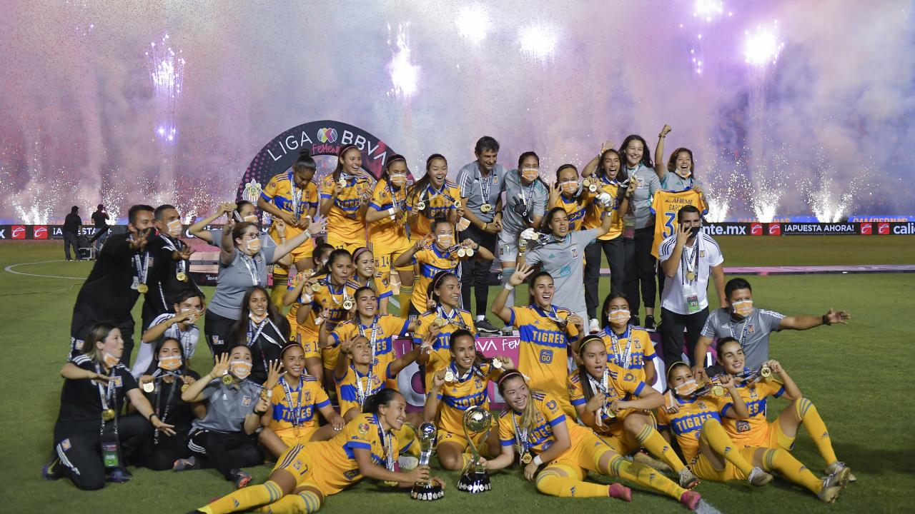Final Tigres Vs Chivas Femenil