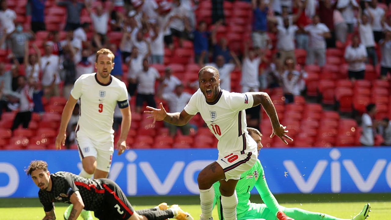 Gol de Sterling Inglaterra vs Croacia