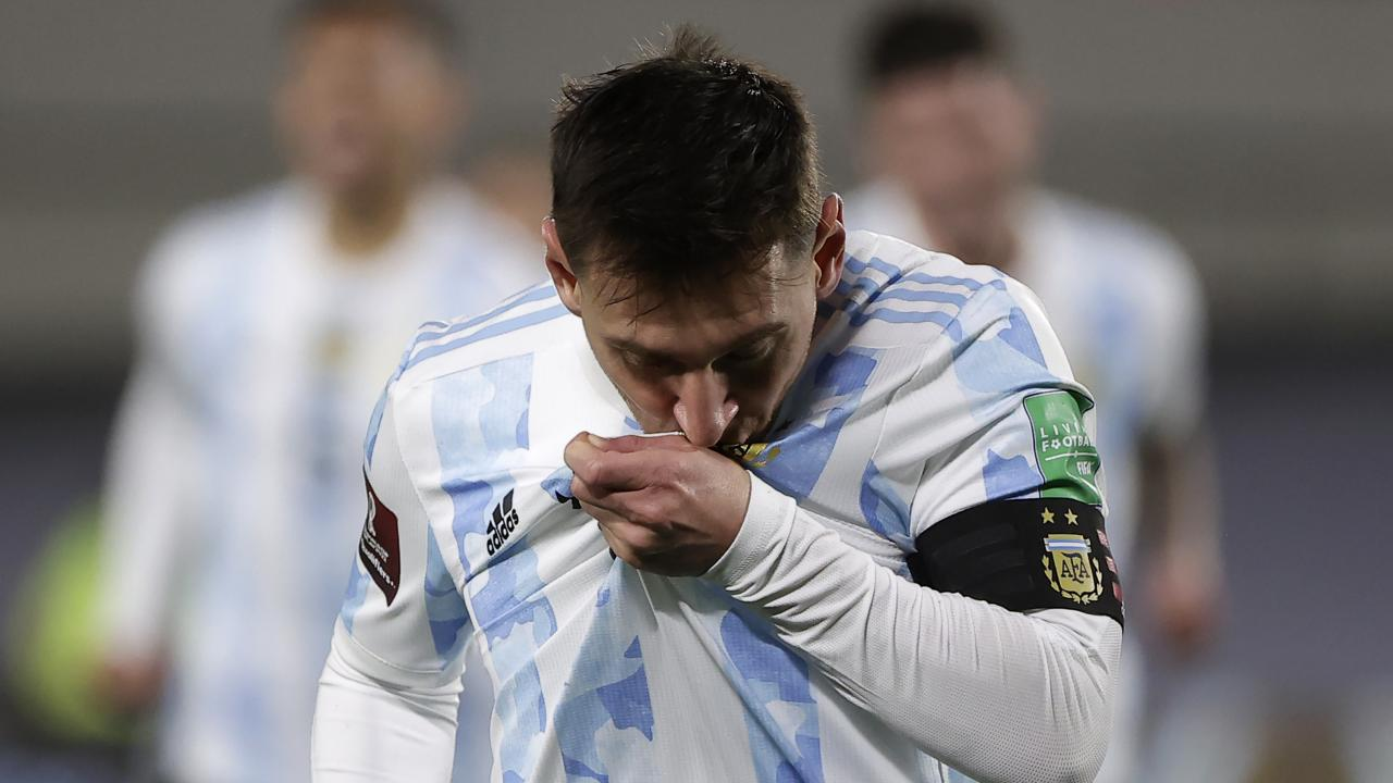 Lionel Messi international goals record