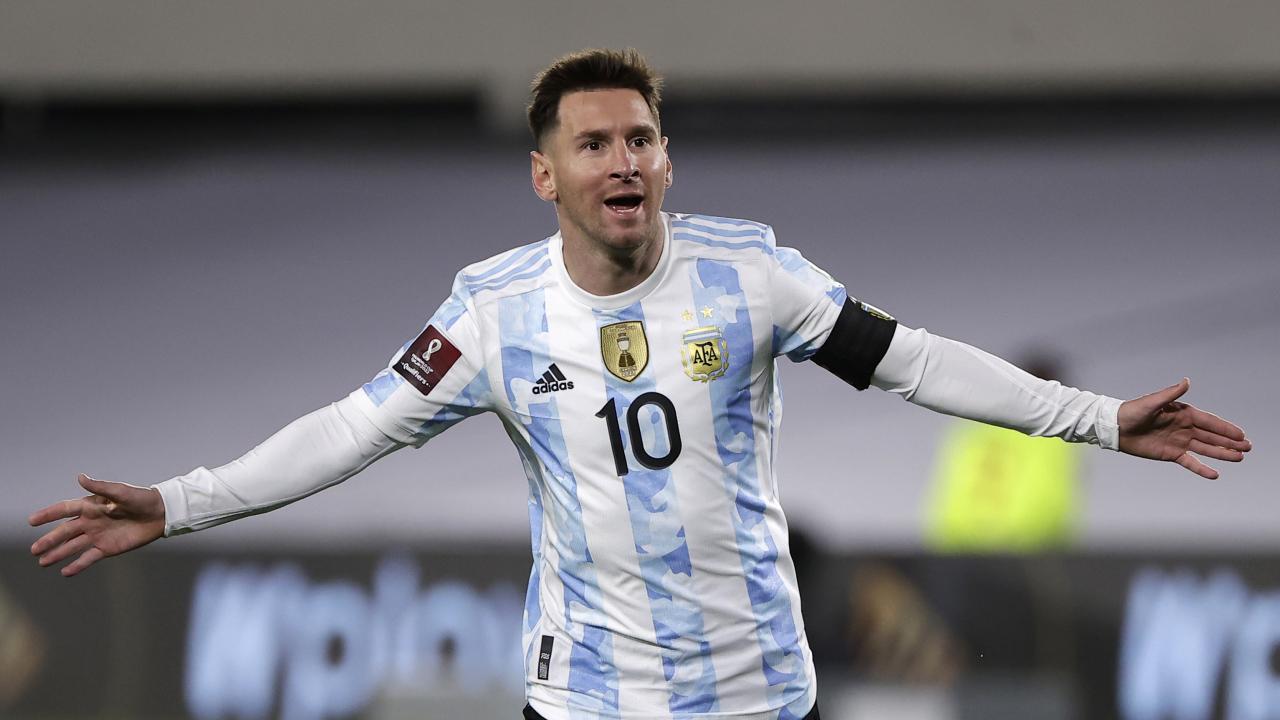 Hat Trick de Messi vs Bolivia