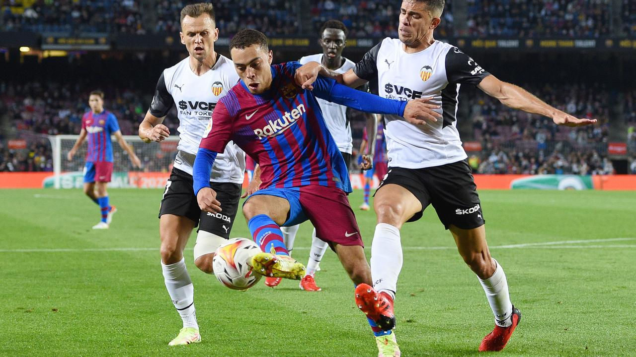 FC Barcelona Sergino Dest
