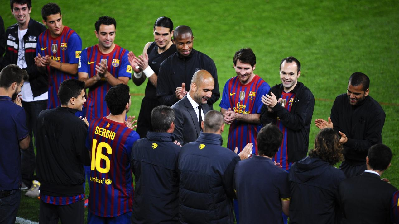 Pep Guardiola Barcelona return
