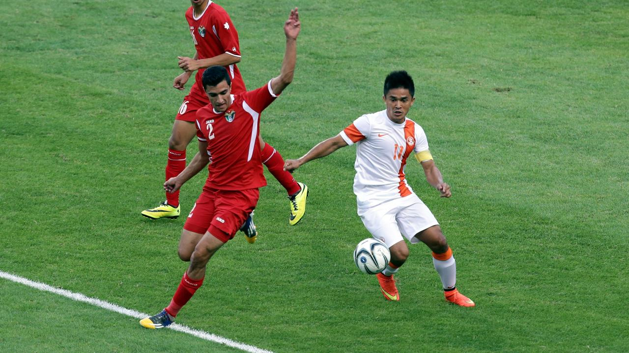 Sunil Chhetri Messi