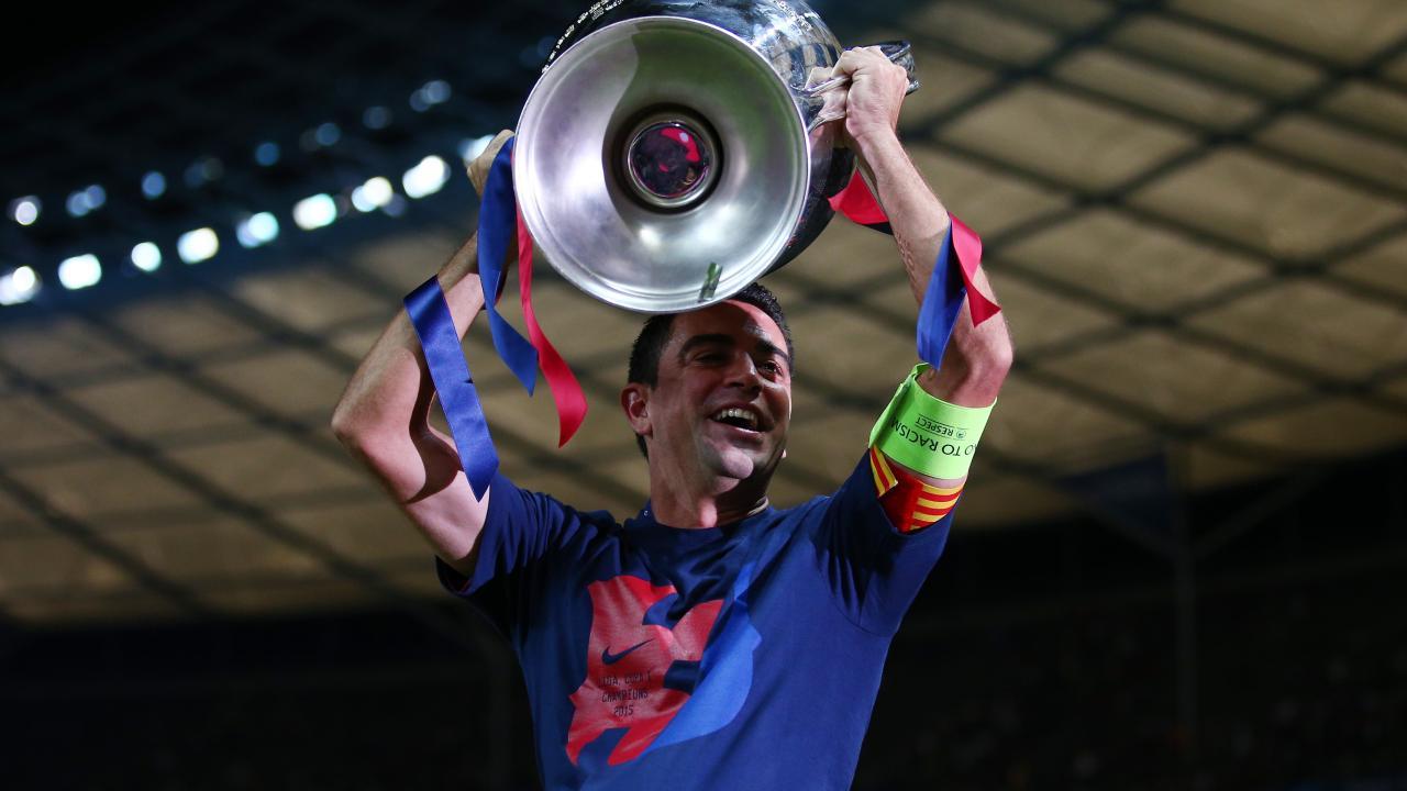 Xavi retires