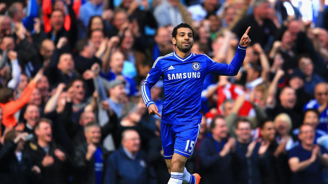 Mohamed Salah Chelsea goal