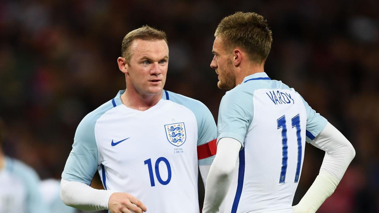 Rooney Vardy tweet