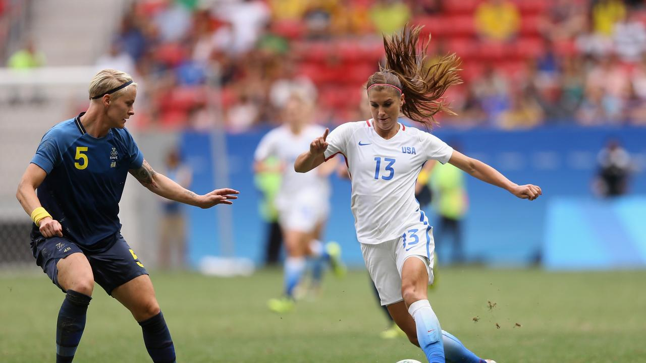 Women's Olympic Soccer Draw