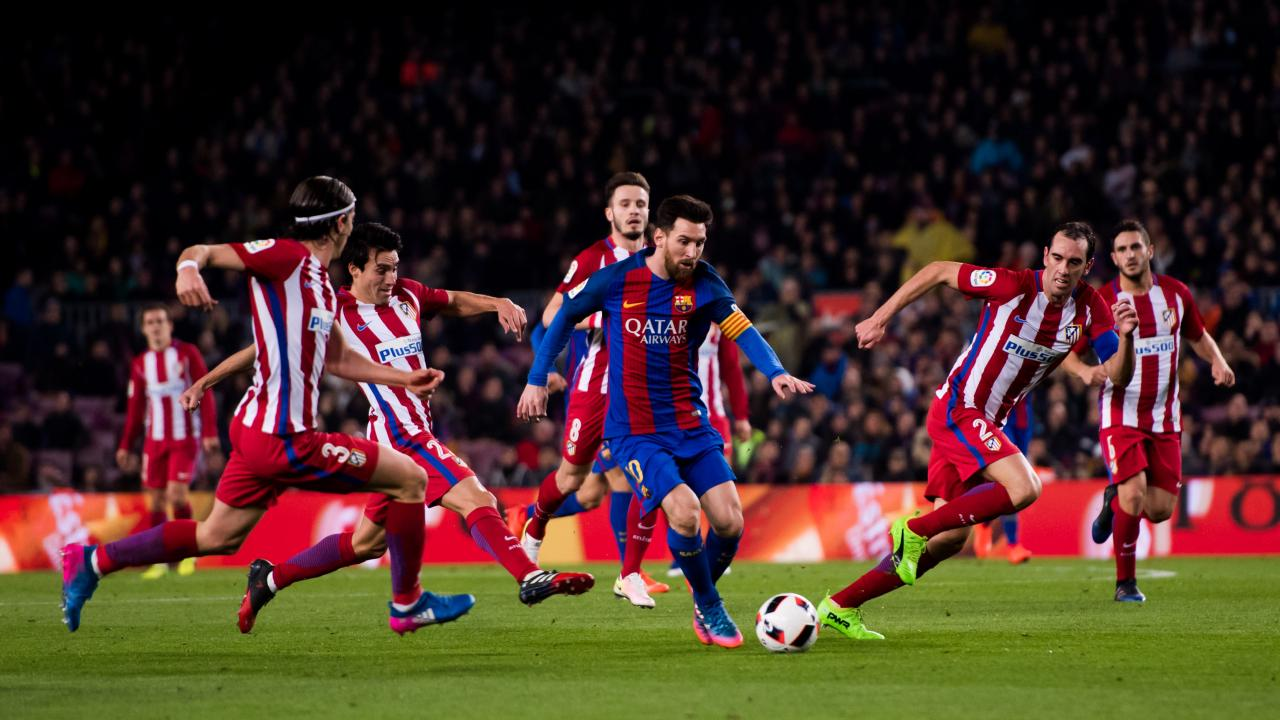 Lionel Messi dribbling style
