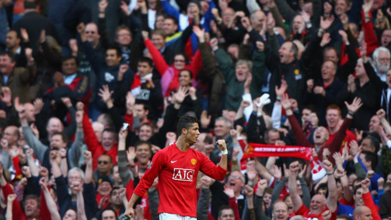 Ronaldo debut for Man Utd