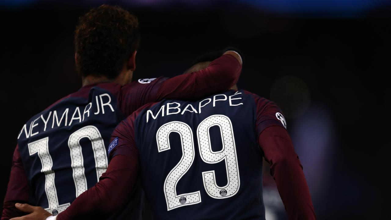 Neymar vs Kylian Mbappe