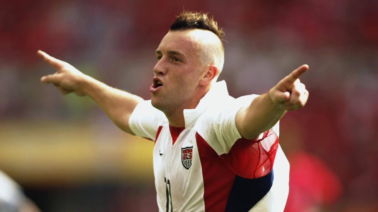 Soccer player mohawk