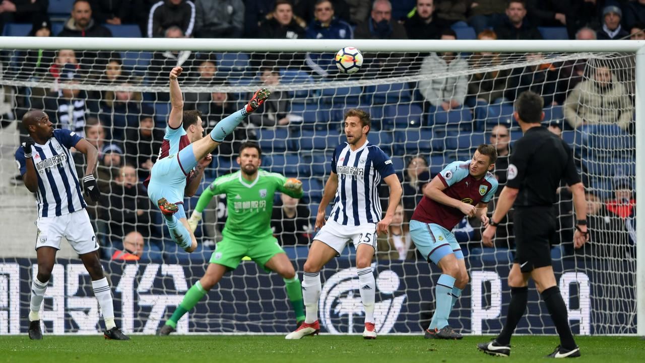 Ashley Barnes goal vs West Brom