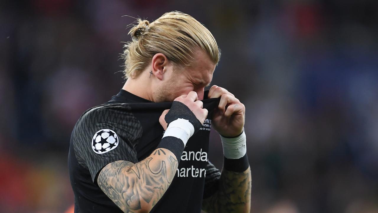 Loris Karius Champions League Final