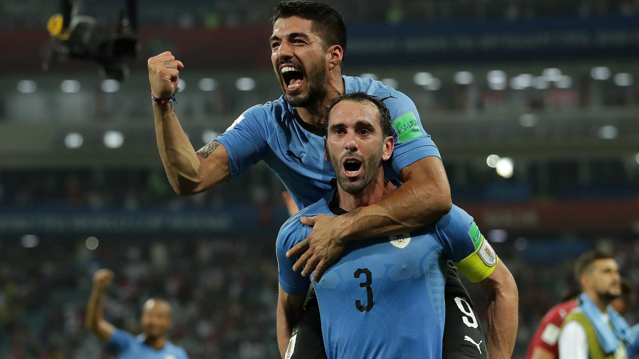 Diego Godin Uruguay captain