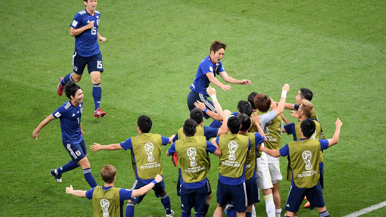 Japan vs Belgium highlights