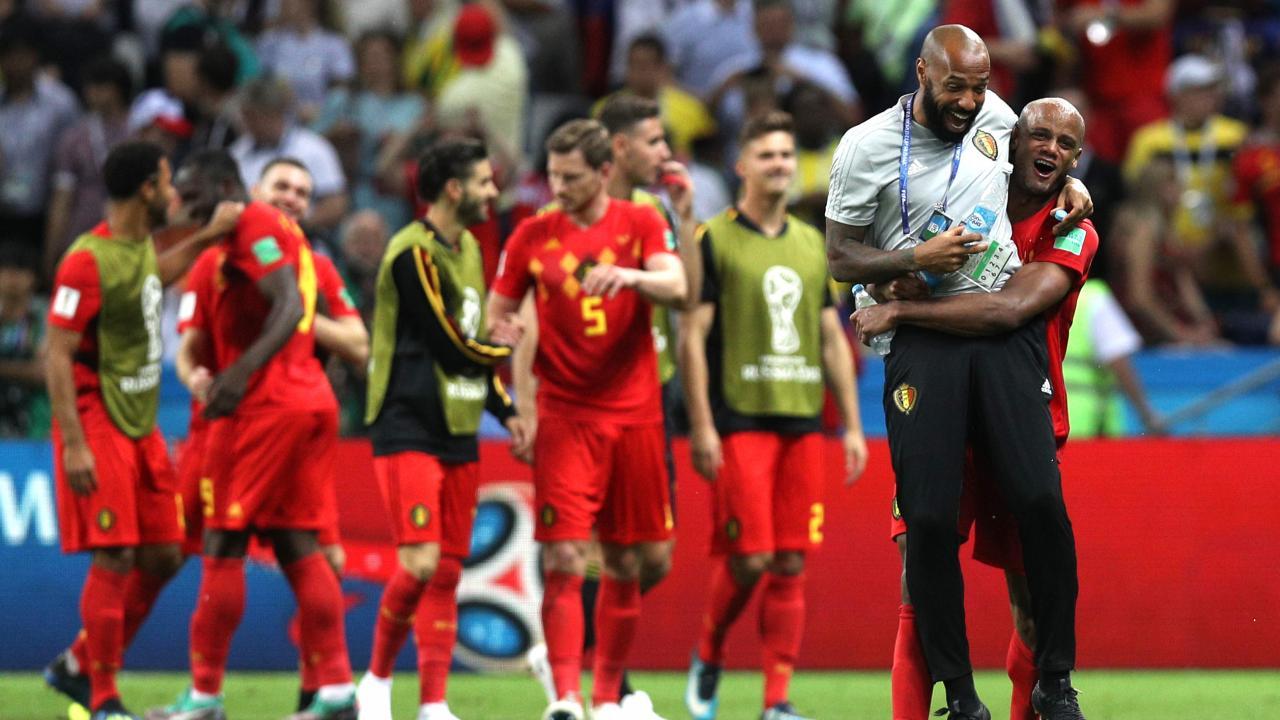 Thierry Henry Belgium