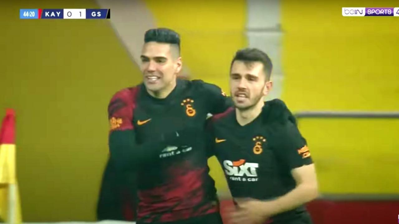 Gol de Falcao versus Kayserispor