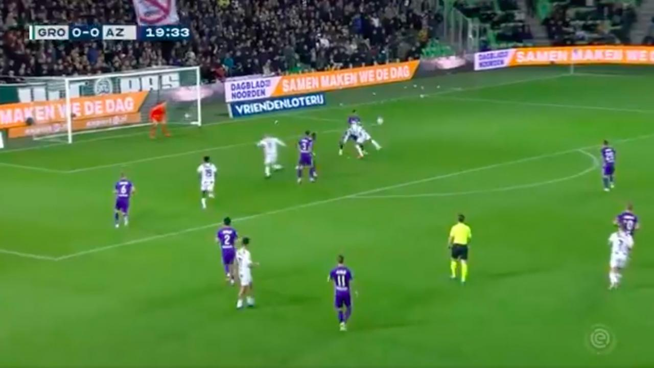 Groningen Cyril Ngonge goal