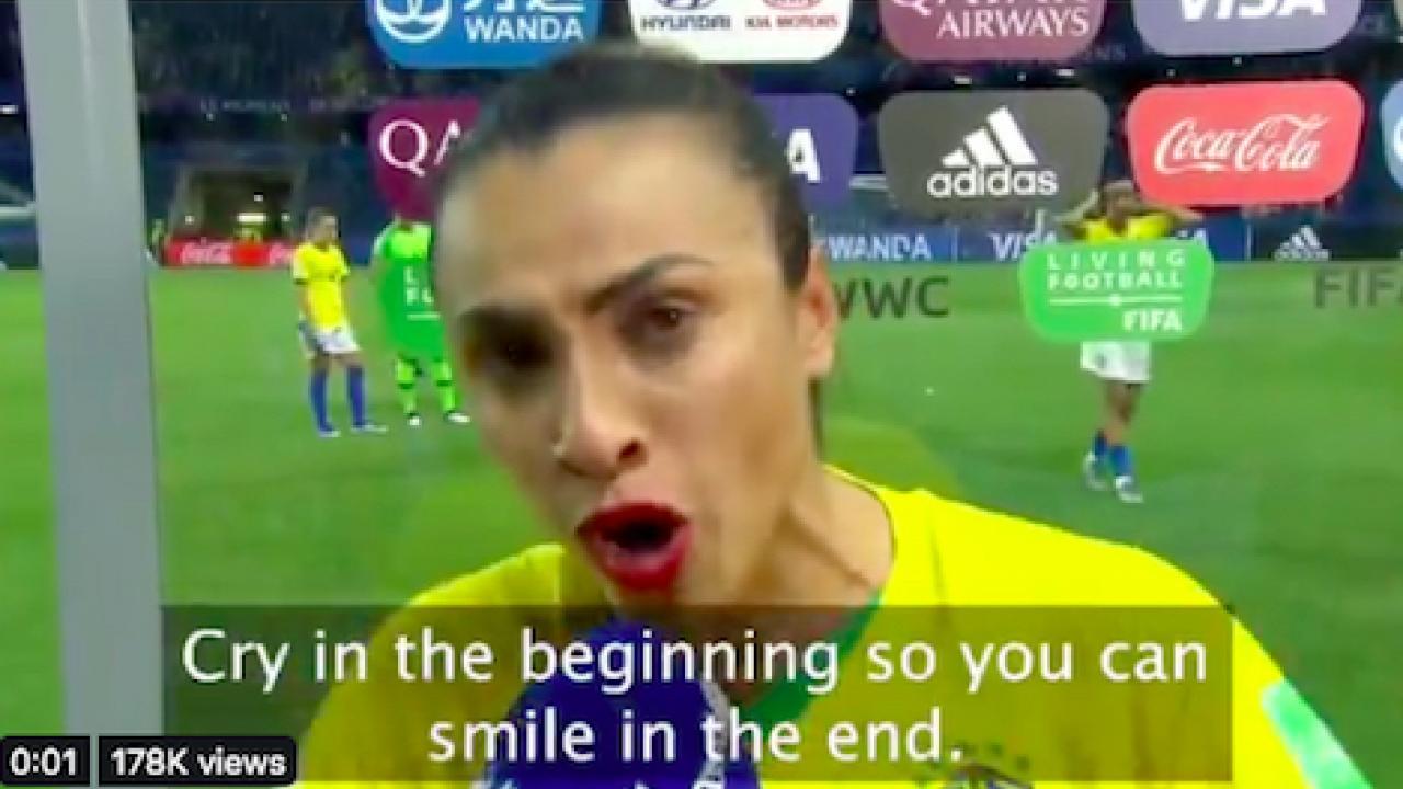 Marta postgame interview