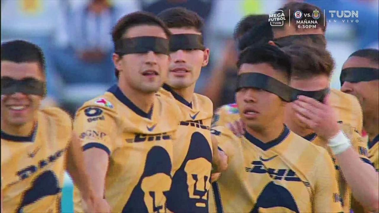 Ojos vendados Liga MX