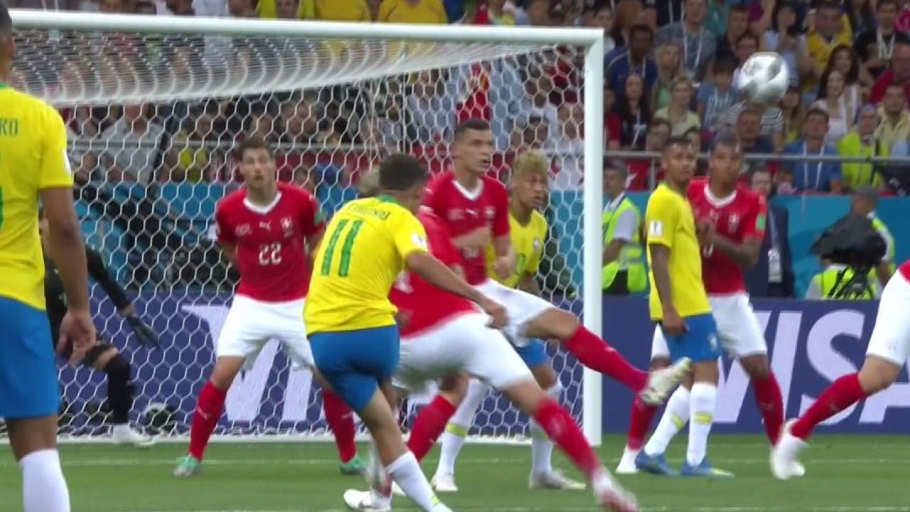 Philippe Coutinho goal vs Switzerland
