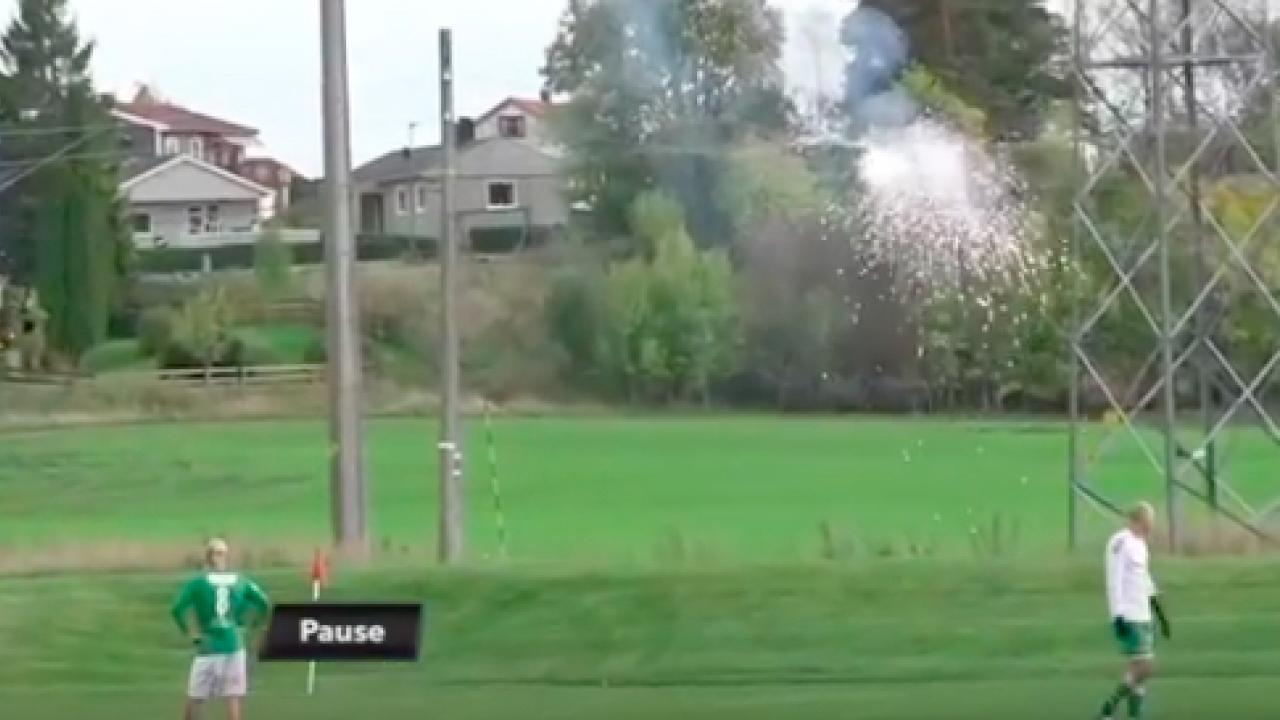 soccer power lines