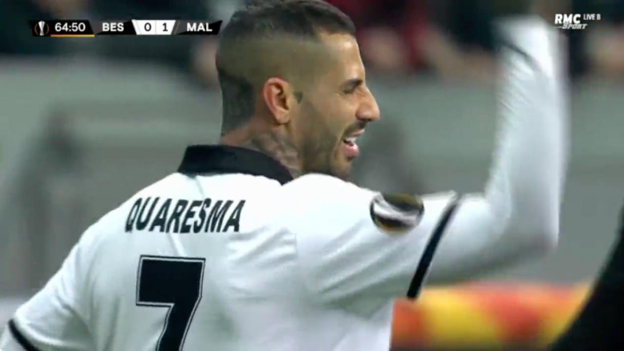 Ricardo Quaresma red card