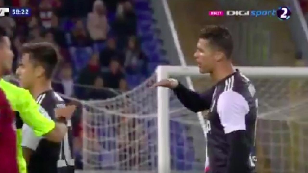 Ronaldo Mocks Florenzi