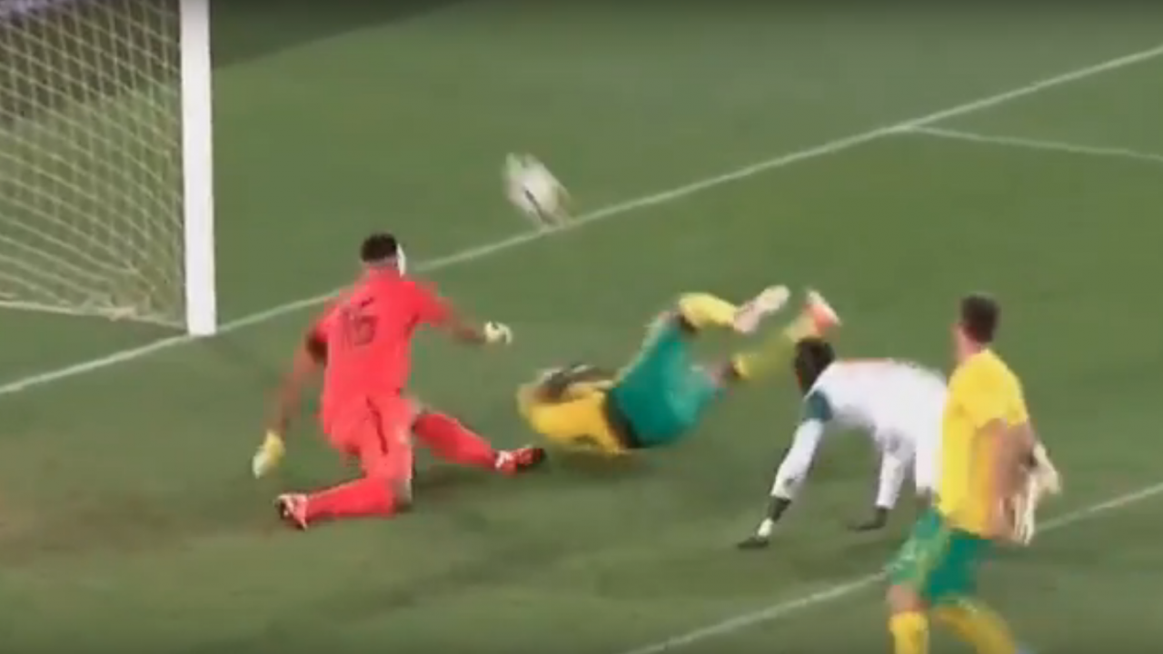 South Africa own goal