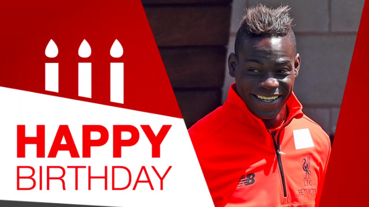 Happy Birthday Mario Balotelli