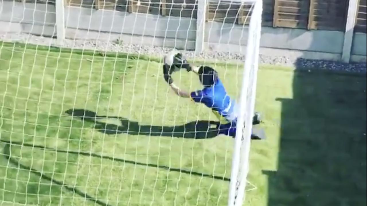 Goalkeeper training in isolation
