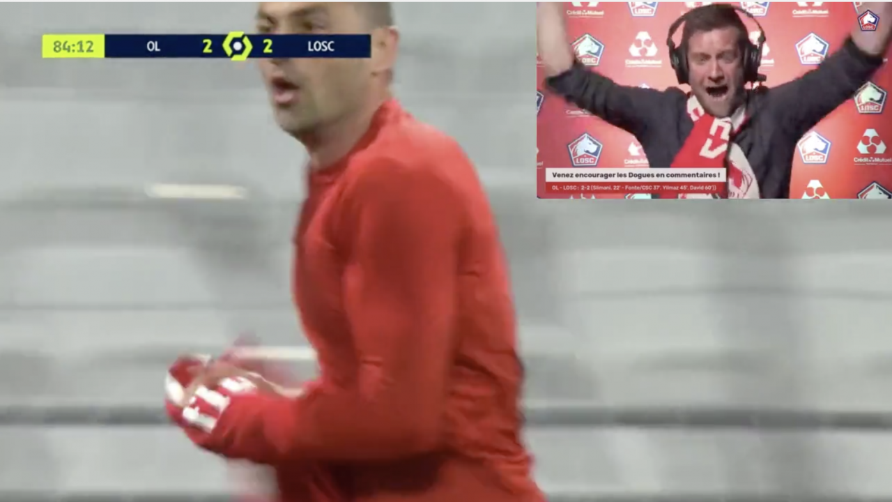Lille Commentator Goes Crazy