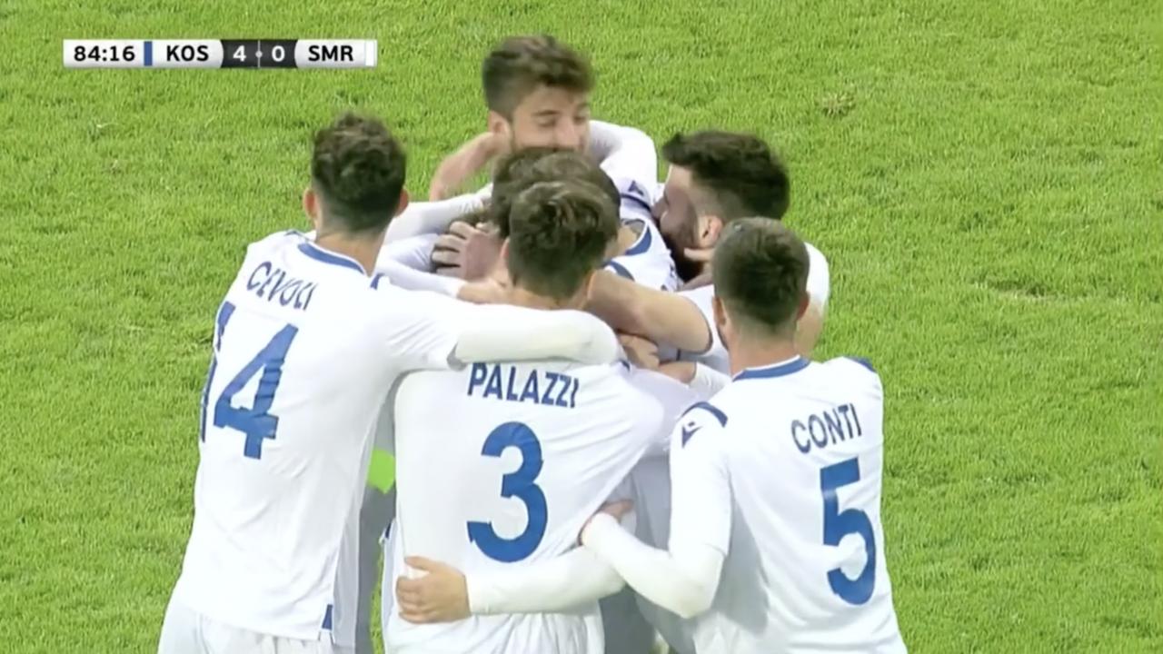 San Marino Goal vs Kosovo
