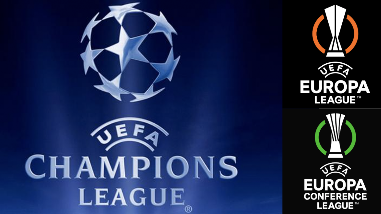 Champions, Europa And Conference League