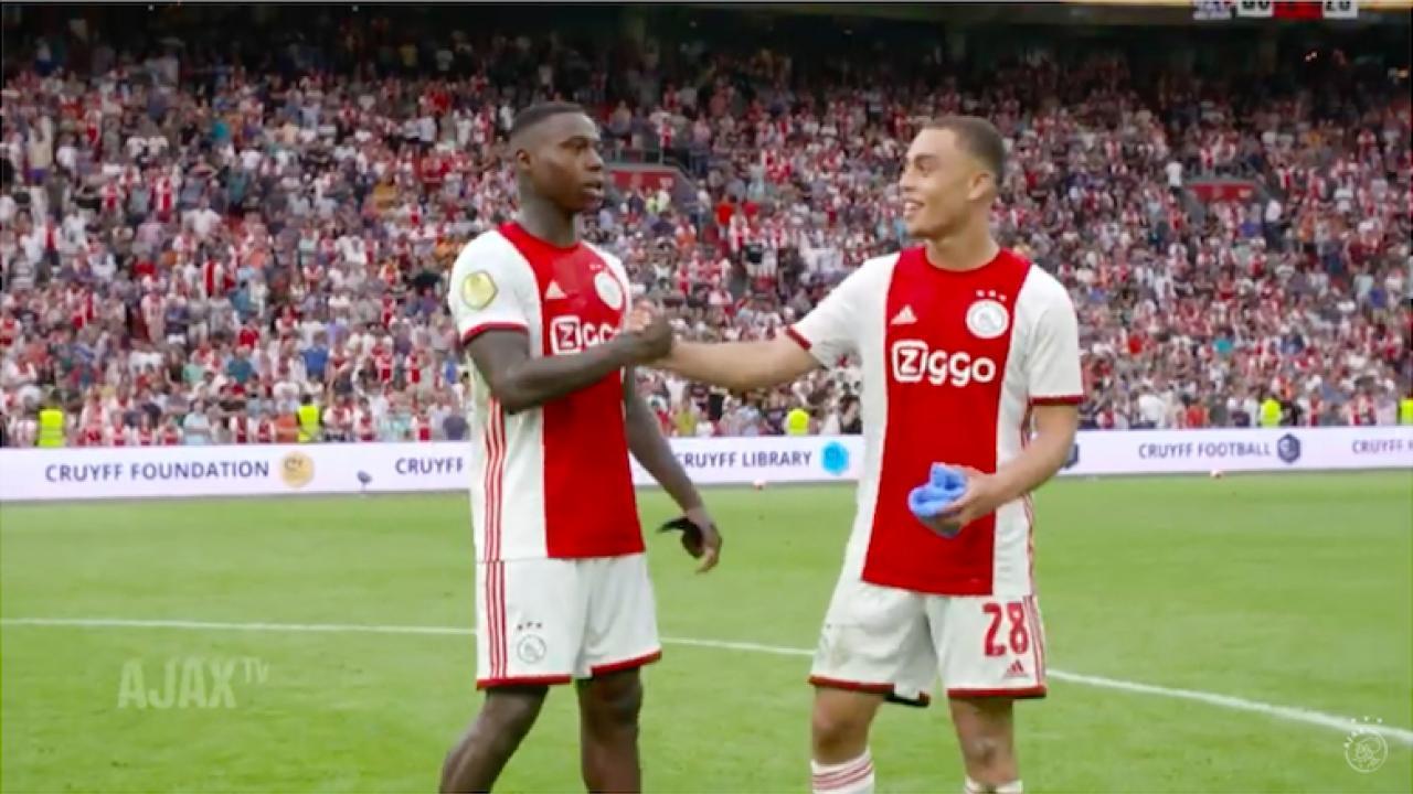 Sergino Dest Ajax debut