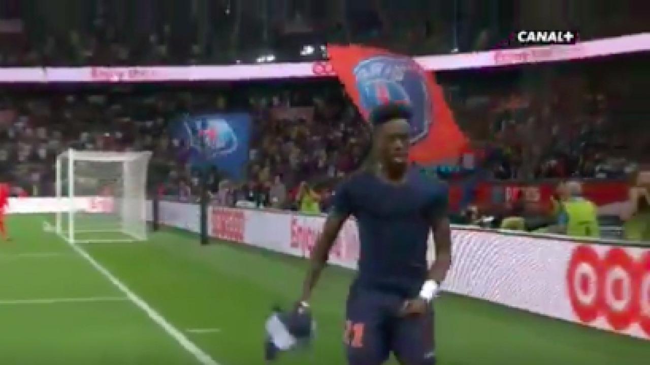 Tim Weah first Ligue 1 goal