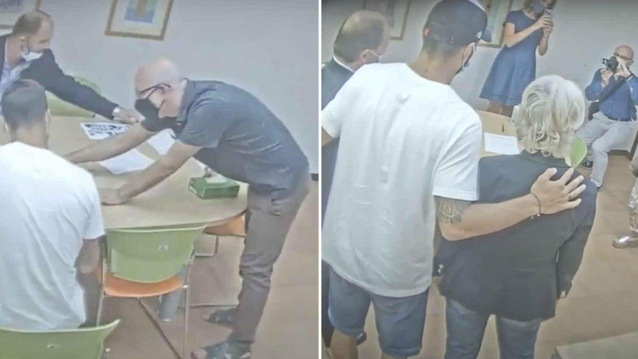 Video Suárez Examen Italiano