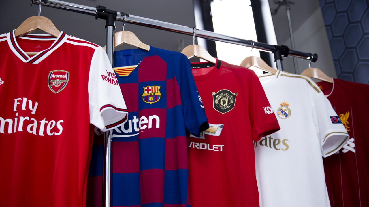 The 18 Best Soccer Jerseys Then And Now