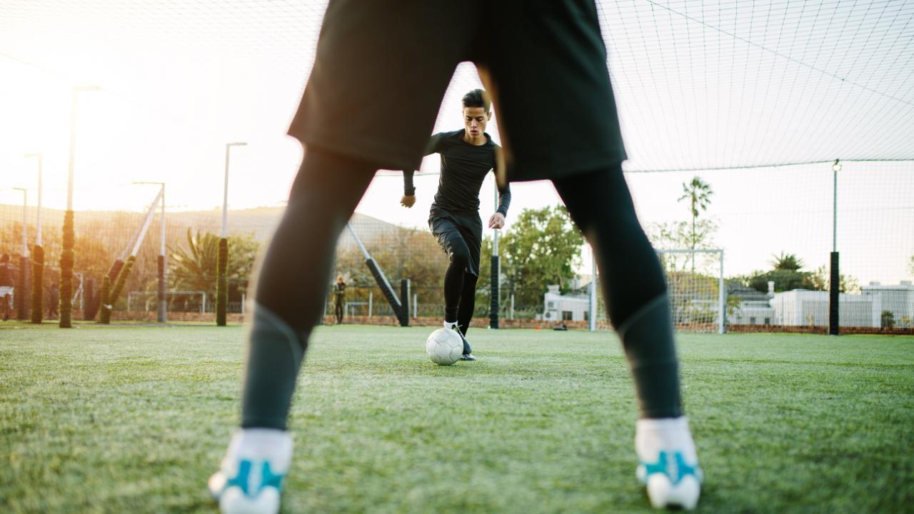 incredible soccer move