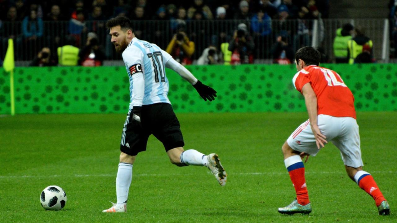 Lionel Messi Argentina Hat-Trick vs Haiti
